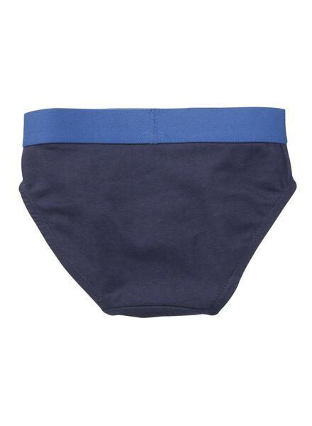 2-pak jongens slips blauw blauw - 1000001410 - HEMA