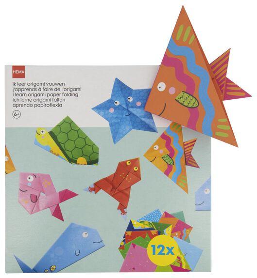 ik leer origami vouwen - knutselset - 15920048 - HEMA