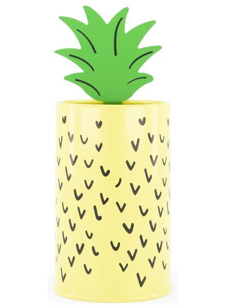 pennenbakje ananas Ø 7 cm- metaal - 60700461 - HEMA