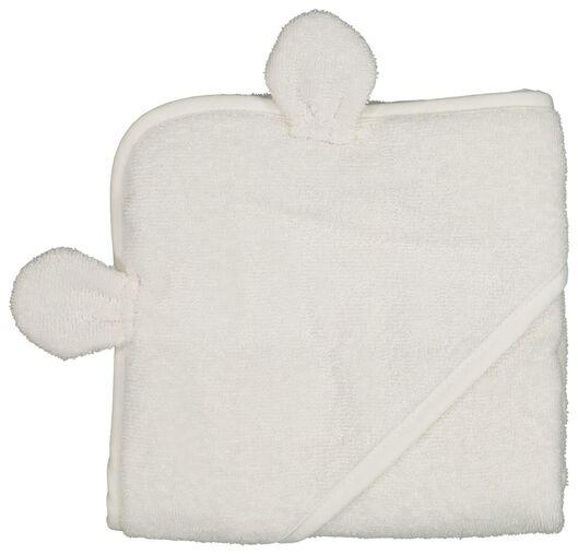 baby badcape met oortjes 70x70 - 33345430 - HEMA