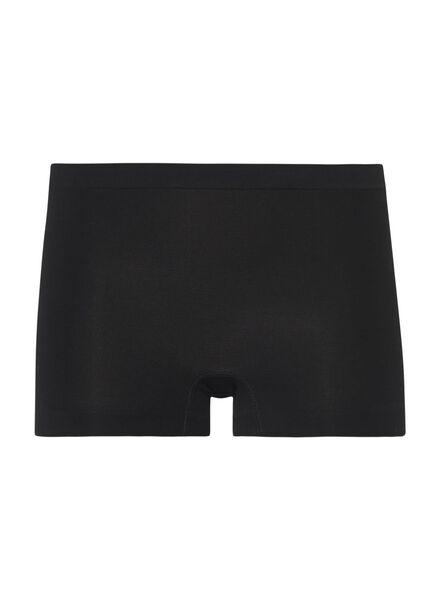 damesboxer naadloos met bamboe zwart zwart - 1000001782 - HEMA