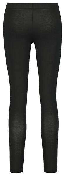 dames thermo legging zwart zwart - 1000022108 - HEMA