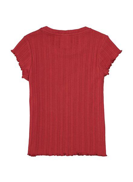 kinder t-shirt rood rood - 1000014488 - HEMA