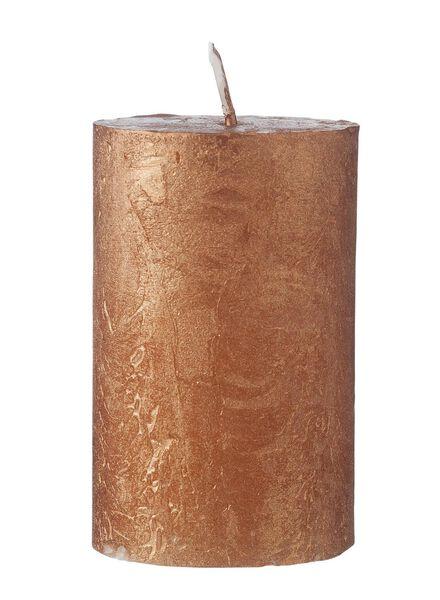 rustieke kaarsen koper koper - 1000015408 - HEMA