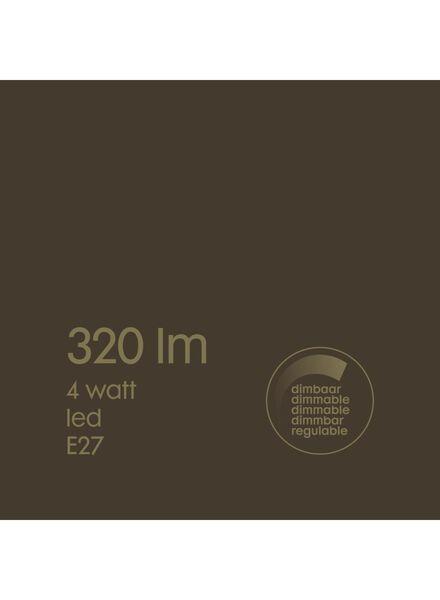 LED lamp 4W - 320 lm - edison - goud - 20020078 - HEMA