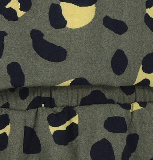 kinder jumpsuit legergroen legergroen - 1000019623 - HEMA