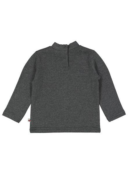 baby t-shirt donkergrijs donkergrijs - 1000016912 - HEMA