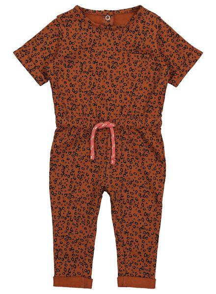 baby jumpsuit bruin bruin - 1000017515 - HEMA
