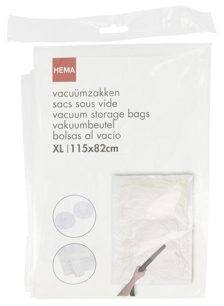 vacuümzak XL - 115x82 - 39891032 - HEMA
