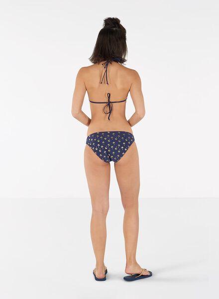 dames bikinislip blauw blauw - 1000011900 - HEMA