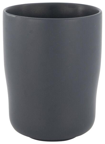 mok 8 cm - bergen - grijs mat - 9602075 - HEMA