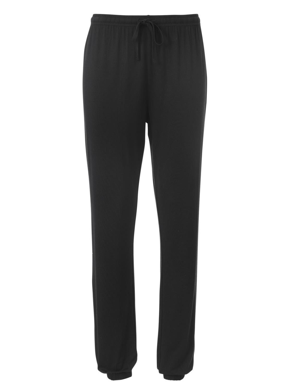 HEMA Dames Pyjamabroek Viscose Zwart (zwart)