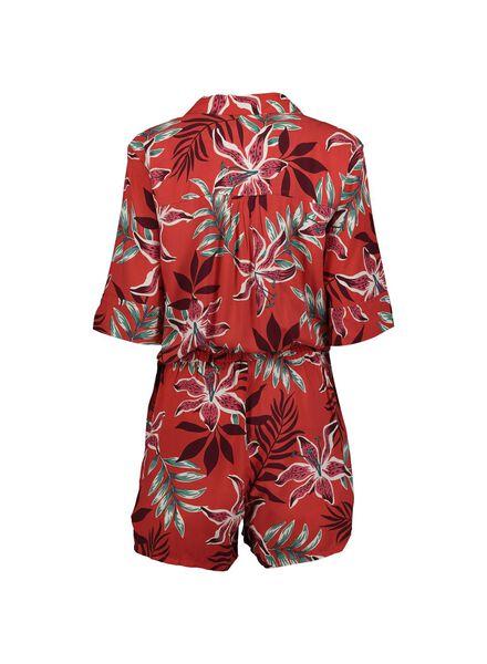 dames jumpsuit rood rood - 1000013824 - HEMA