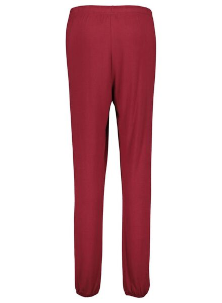 dames pyjamabroek rood rood - 1000017148 - HEMA