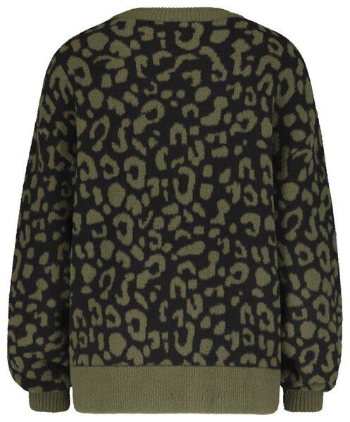 damestrui luipaard olijf olijf - 1000020616 - HEMA