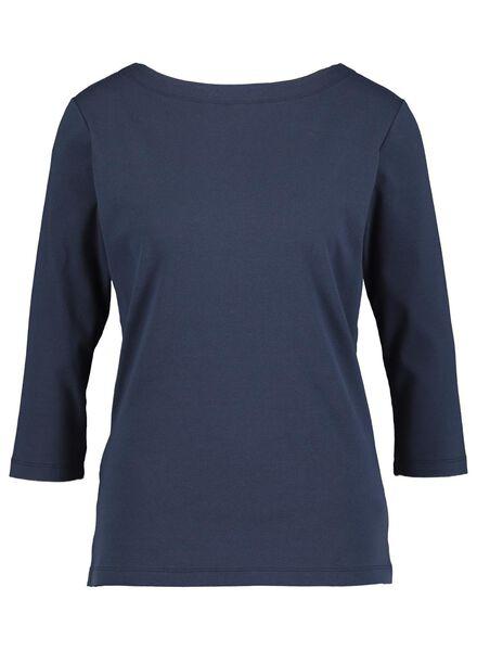 dames top donkerblauw - 1000014837 - HEMA