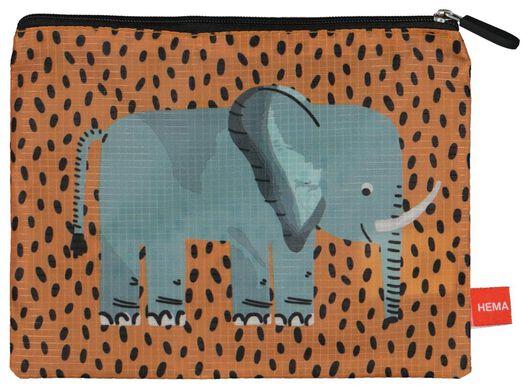 bagage organizers - 3 stuks - safari - 18630304 - HEMA