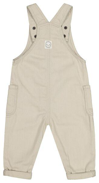 baby jumpsuit zand 74 - 33101443 - HEMA