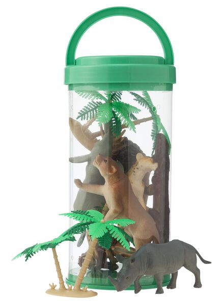jungledieren set - 15170086 - HEMA