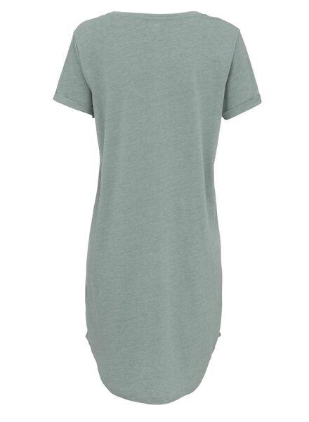 dames nachthemd katoen groen - 1000011787 - HEMA