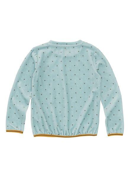 kindersweater lichtblauw lichtblauw - 1000010315 - HEMA