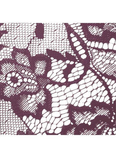 dames slip aubergine - 1000002290 - HEMA