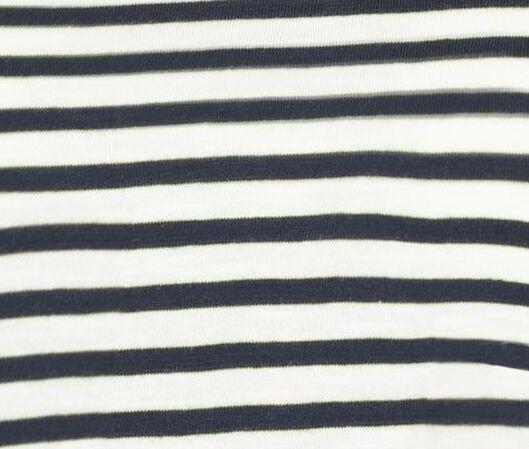 dames t-shirt donkerblauw donkerblauw - 1000018261 - HEMA
