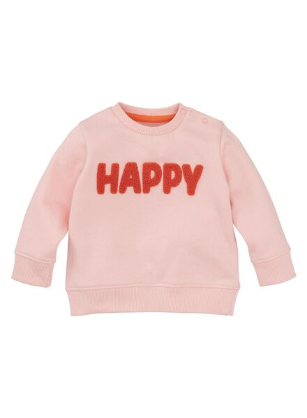 baby sweater roze roze - 1000008302 - HEMA