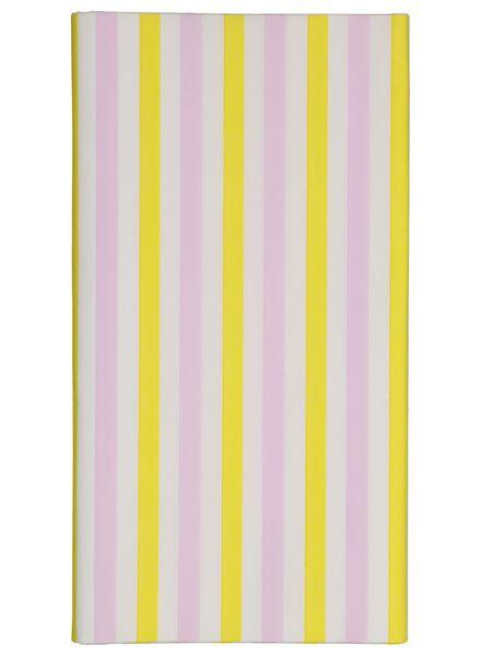 tafelkleed - 138 x 220 - papier - gekleurde strepen - 14210098 - HEMA