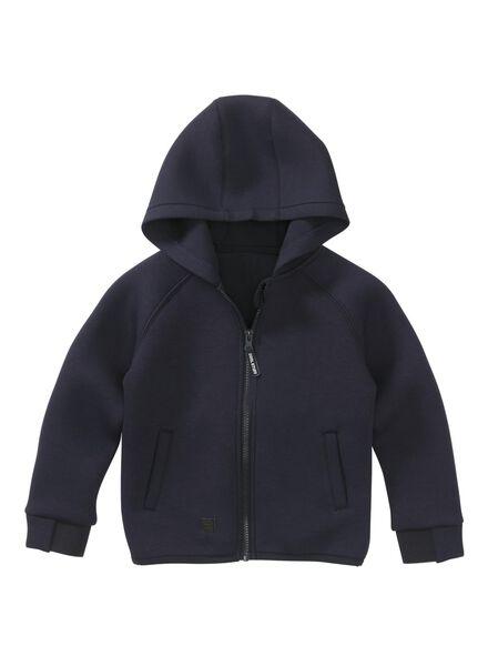 kindervest donkerblauw donkerblauw - 1000008574 - HEMA