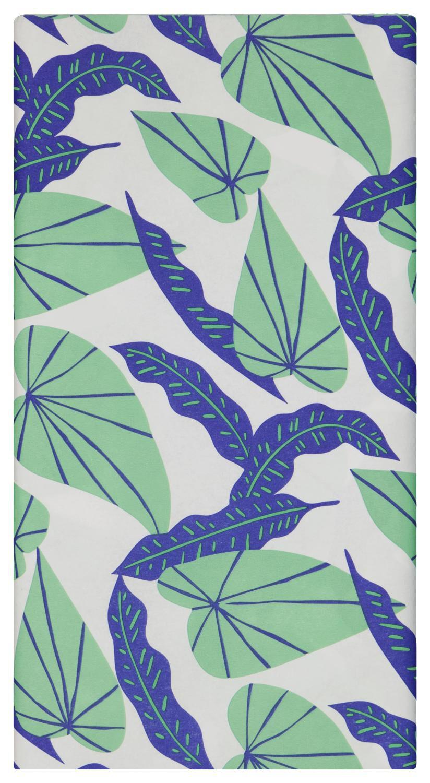 HEMA Tafelkleed 138x220 Papier Bladeren