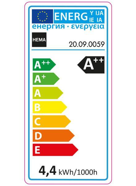 LED matte kogellamp 4,4 watt - grote fitting - 470 lumen - 20090059 - HEMA