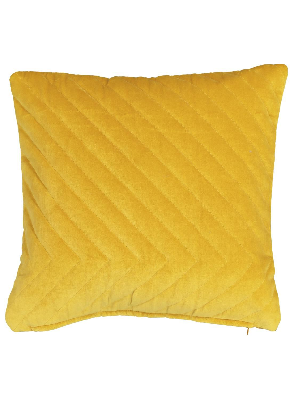 HEMA Kussenhoes – 40×40 – Velours – Okergeel (geel)