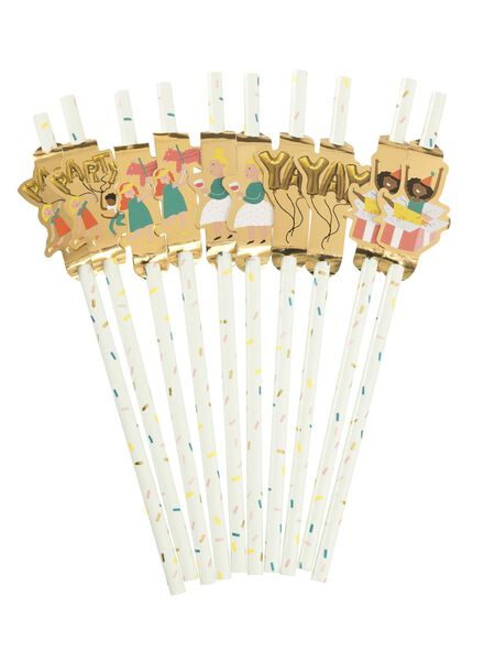 rietjes - confetti feestfiguur - 10 stuks - 60800400 - HEMA