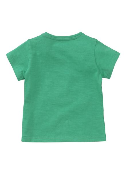 baby t-shirt felgroen felgroen - 1000013431 - HEMA