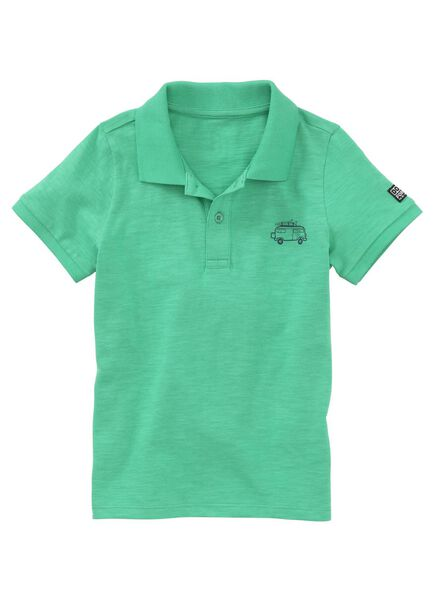 kinderpolo groen 98/104 - 30758431 - HEMA