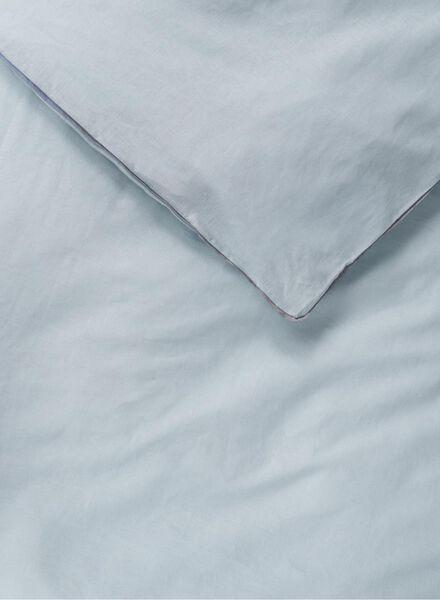 dekbedovertrek - 200 x 200 - linnen - blauw - 5710089 - HEMA