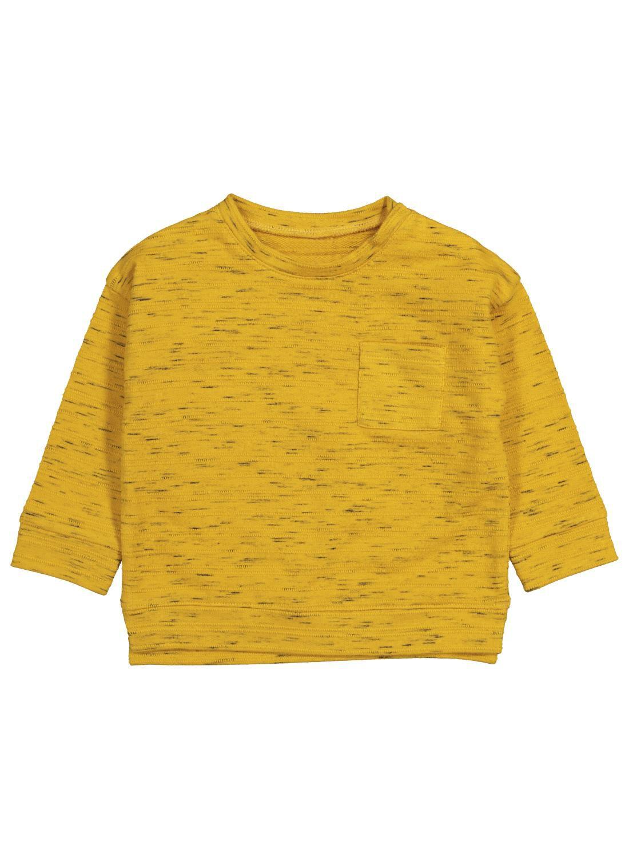 HEMA Babysweater Okergeel (okergeel)