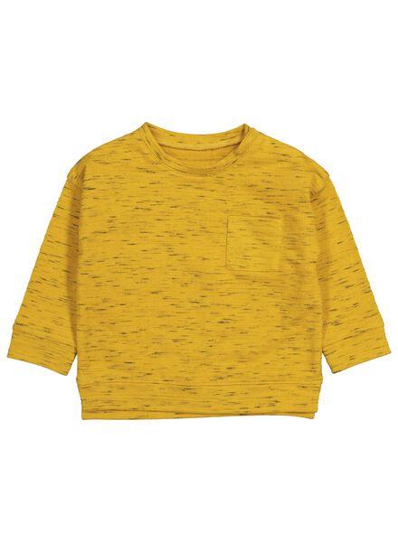 babysweater okergeel okergeel - 1000015555 - HEMA