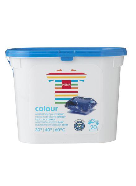 20-pak wasmiddelcapsules kleur - 20500125 - HEMA