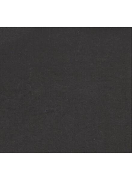 heren t-shirt V-hals slim fit extra lang zwart zwart - 1000009853 - HEMA