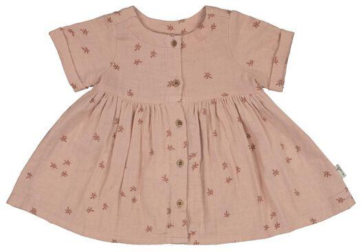 babyset jurk en broekje roze - 1000023704 - HEMA