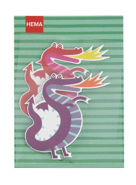 2-pak XL stickers - 15910122 - HEMA