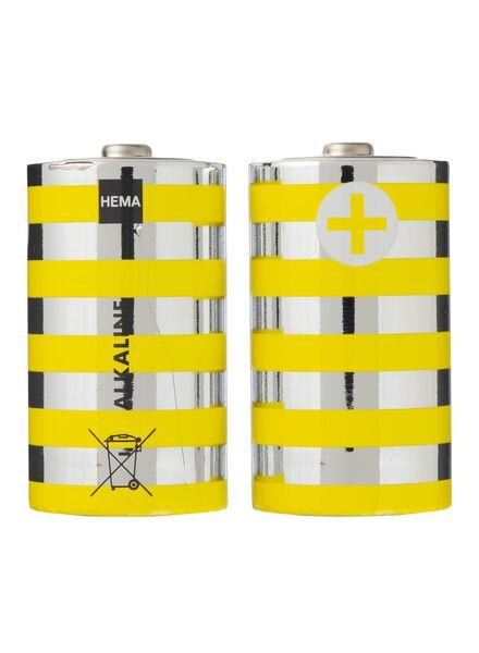 2-pak Alkaline batterijen - 41210500 - HEMA