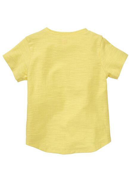 baby t-shirt geel geel - 1000012996 - HEMA
