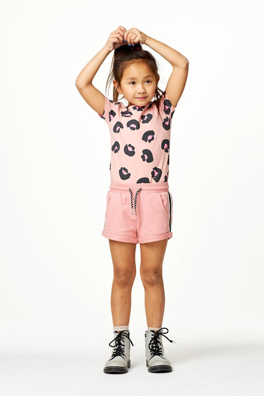 HEMA Kinder Sweatshort Roze (roze)