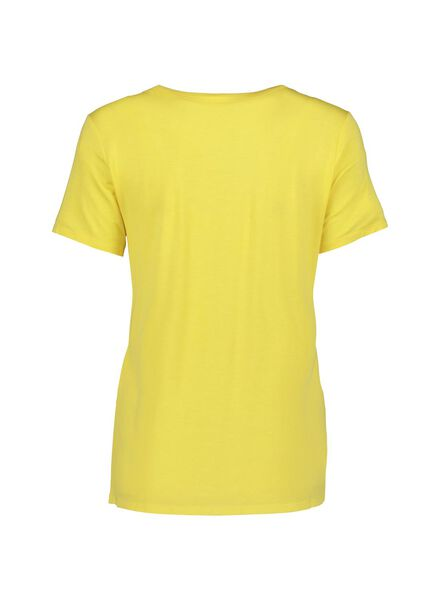 dames t-shirt felgeel felgeel - 1000013626 - HEMA