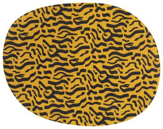 placemat - 28x36 - kunststof - dierenprint - 5320005 - HEMA