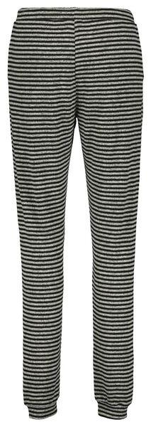 dames pyjamabroek grijsmelange grijsmelange - 1000021685 - HEMA