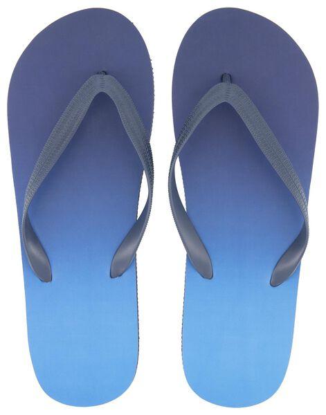 heren teenslippers donkerblauw donkerblauw - 1000018767 - HEMA
